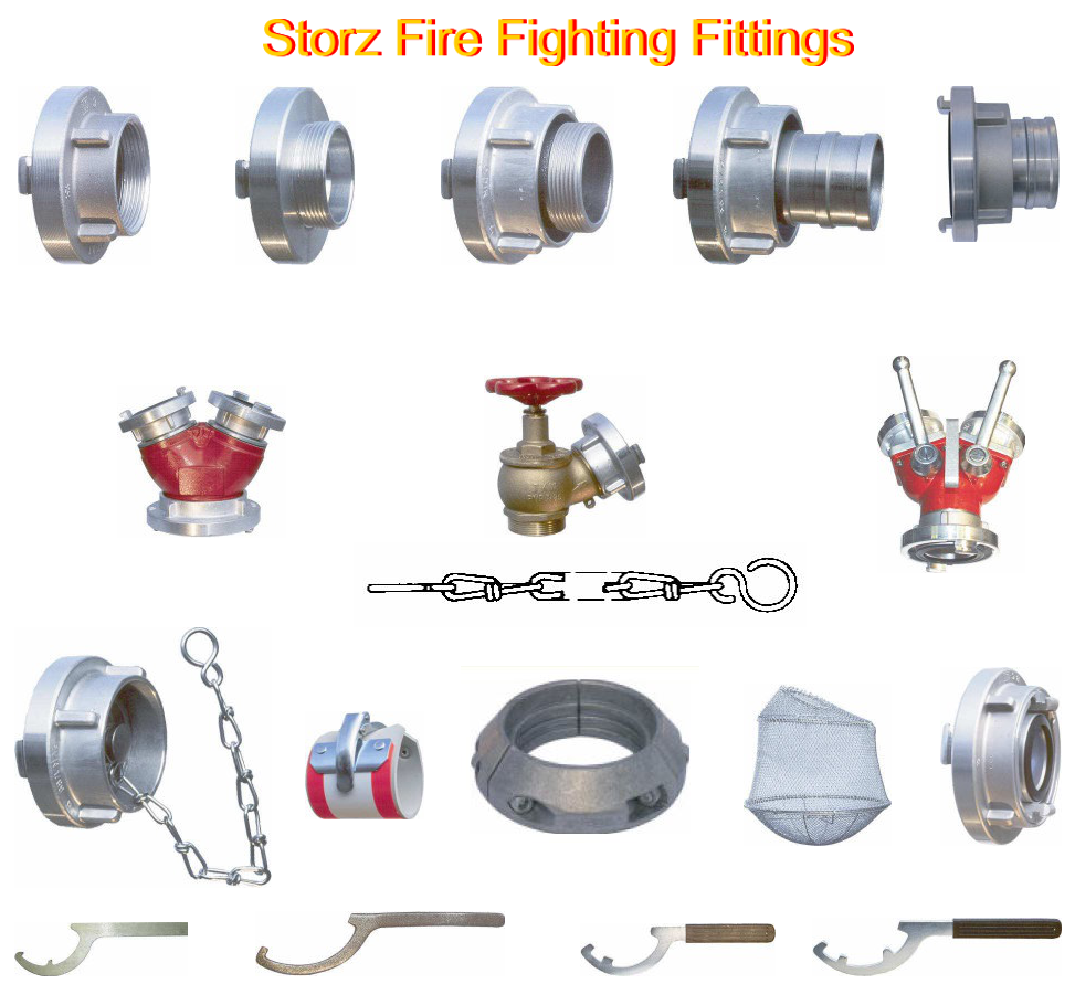 Storz Fire Fighting Fittings
