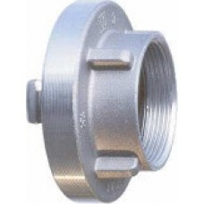 Storz Size 100mm Adapter with 4 inch BSPP Female Thread - Aluminium