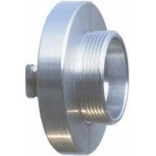 Storz Size 65mm Adapter with 3 inch BSPP Male Thread - Aluminium