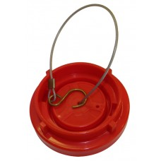 Red Plastic 65mm Storz Fire Hydrant Cap