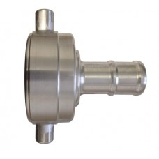SAFB/CFS Female to 38mm Hose tail Coupling - Aluminium