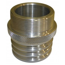SAFB/CFS Male to Male BSP Thread - Aluminium