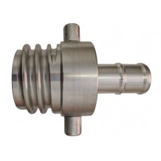SAFB/CFS Male to 25mm Hose tail Coupling - Aluminium